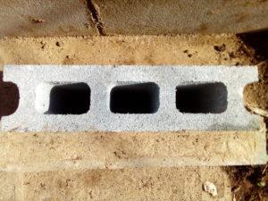 コンクリートブロックの写真